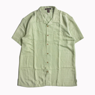 HARRITON / BAHAMA SHIRT (GREEN MIST)