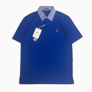 POLO GOLF (RALPH LAUREN) / PIMA LISLE POLO SHIRT (BLUE)