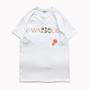 WACK WACK / QUEEN OF DOWNER TEE (WHITE)