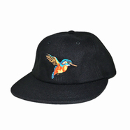 ACAPULCO GOLD / HUMMINGBIRD 6-PANEL CAP (BLACK)