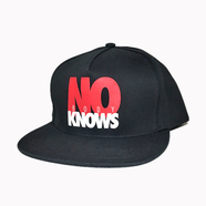 ACAPULCO GOLD / NOBODY KNOWS 5-PANEL SNAPBACK (BLACK)