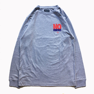ACAPULCO GOLD / NOBODY KNOWS LONG SLEEVE TEE (GREY)