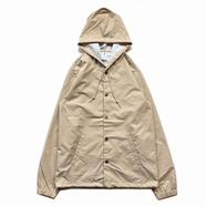 INDEPENDENT TRADING / HOODED COACHES JACKET (KHAKI)