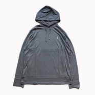 POLO RALPH LAUREN / HOODED LS TEE (CHARCOAL)