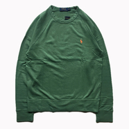 POLO RALPH LAUREN / FRENCH TERRY SWEAT (GREEN)