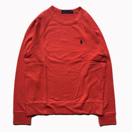 POLO RALPH LAUREN / FRENCH TERRY SWEAT (RED)