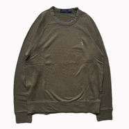 POLO RALPH LAUREN / FRENCH TERRY SWEAT (OLIVE)