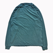 COMFORT COLORS / GARMENT DYED LS TEE (BLUE SPRUCE)