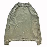 COMFORT COLORS / GARMENT DYED LS TEE (KHAKI)