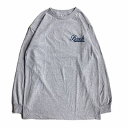 BENCH / SMALL COFFEE LOGO LS TEE (GREY)
