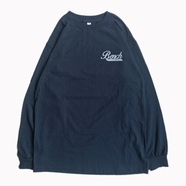 BENCH / SMALL COFFEE LOGO LS TEE (NAVY)