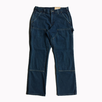 CARHARTT USA / RELAXED FIT DOUBLE FRONT WASHED JEANS