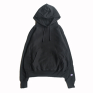 CHAMPION USA / REVERSE WEAVE HOODY (BLACK)