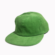 CALI HEADWEAR / 6PANEL CORDUROY CAP (GREEN)