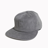 CALI HEADWEAR / 6PANEL CORDUROY CAP (GREY)