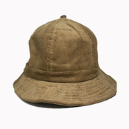 NEW HATTAN / CORDUROY BALL HAT (BROWN)