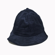 NEW HATTAN / CORDUROY BALL HAT (NAVY)