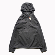 INDEPENDENT TRADING / NYLON ANORAK JACKET (GRAPHITE)