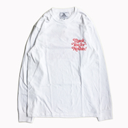 NOTHIN' SPECIAL / THANK YOU LONG SLEEVE TEE (WHITE)
