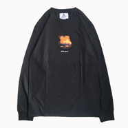 NOTHIN' SPECIAL / NARCOS LONG SLEEVE TEE (BLACK)