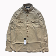 POLO RALPH LAUREN / COTTON TWILL UTILITY SHIRT