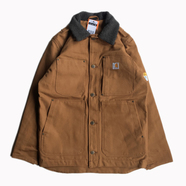 CARHARTT USA / FULL SWING CHORE COAT (CARHARTT BROWN)