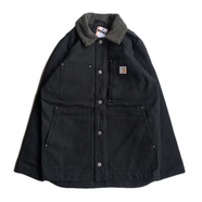 CARHARTT USA / FULL SWING CHORE COAT (BLACK)