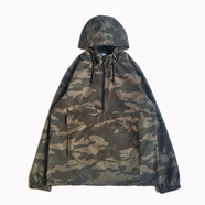 INDEPENDENT TRADING / NYLON ANORAK JACKET (CAMO)