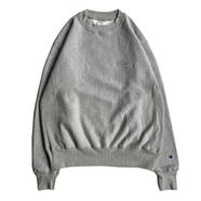 BENCH / Embroidery LOGO CREW NECK (GREY)