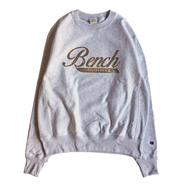 BENCH / SABI LOGO CREW NECK (SILVER GREY)