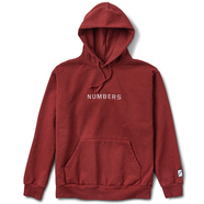 NUMBERS EDITION / EMBROIDERED WORDMARK FLEECE PULLOVER