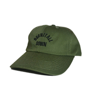 ACAPULCO GOLD / BURN IT ALL DOWN 6-PANEL CAP (OLIVE)