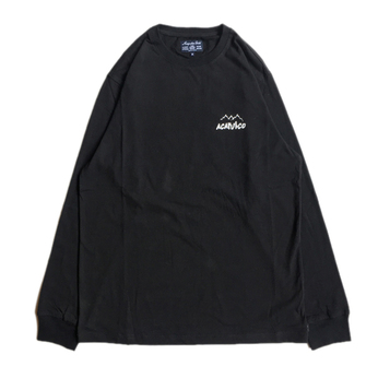 ACAPULCO GOLD / ICE CLIMBER LONG SLEEVE TEE(BLACK)