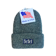 BELIEF / MIDNIGHT BEANIE (PINE MARL)