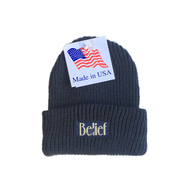 BELIEF / MIDNIGHT BEANIE (NAVY)