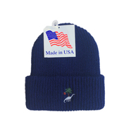 BELIEF / PREHISTORIC BEANIE (LIGHT NAVY)