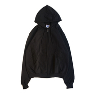 CHAMPION USA / ECO FLEECE ZIP HOODY (BLACK)