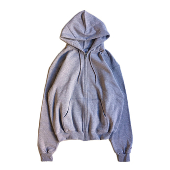 CHAMPION USA / ECO FLEECE ZIP HOODY (GREY)