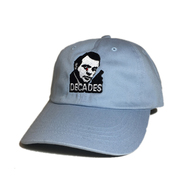 DECADES HAT / STREET JUSTICE CAP (BLUE)