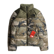 THE NORTH FACE / NOVELTY NUPTSE JACKET (CAMO)