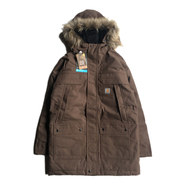 CARHARTT USA / QUICK DUCK SAWTOOTH PARKA (BROWN)