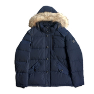 Calvin Klein / Faux Fur Hooded JKT (NAVY)
