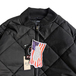 ROTHCO / Diamond Quilted Flight Jacket (BLACK)