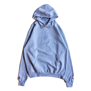 FELT / DOBERMAN HOODY (GREY)