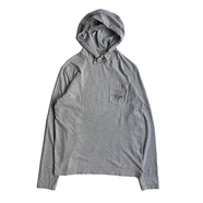 POLO RALPH LAUREN / POCKET HOODED LS TEE (GREY)