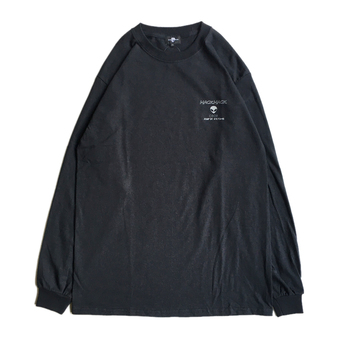 WACK WACK / THX COMING LS TEE (BLACK)