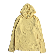 COMFORT COLORS / GARMENT DYED HOODED LS TEE (BUTTER)