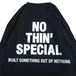 NOTHIN' SPECIAL / LOGO LS TEE (BLACK)