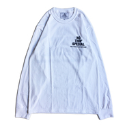 NOTHIN' SPECIAL / LOGO LS TEE (WHITE)