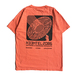 H33M / H33MTEL POCKET TEE (SALMON)